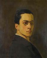 Ferdinand Hodler, Portrait de Marc Odier, 1881. Genève, Institut Ferdinand Hodler, dépôt d'une collection privée.