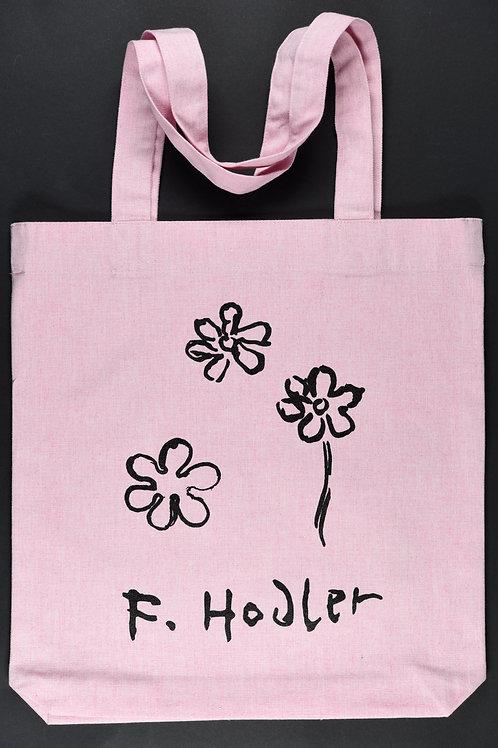 """Tote-bag """"F. Hodler"""" rose clair"""