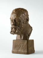 Pedro Meylan, Portrait de Ferdinand Hodler, 1917. Genève, Institut Ferdinand Hodler, dépôt d'une collection privée.