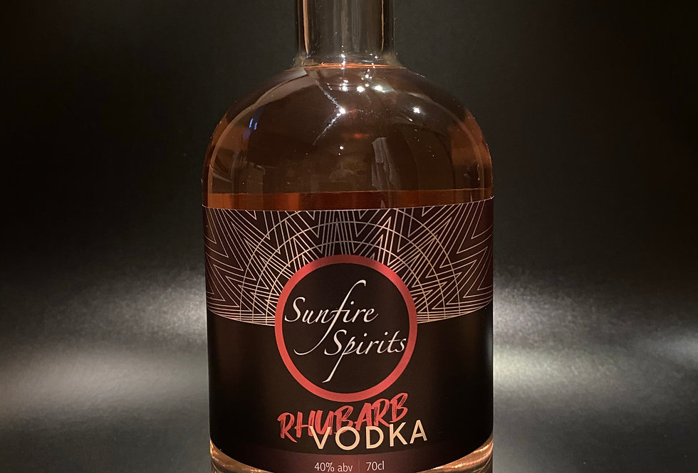 Rhubarb Vodka 70cl