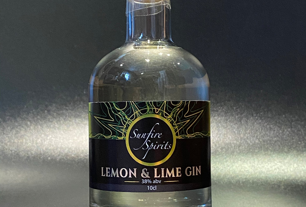 Lemon & Lime Gin 10cl