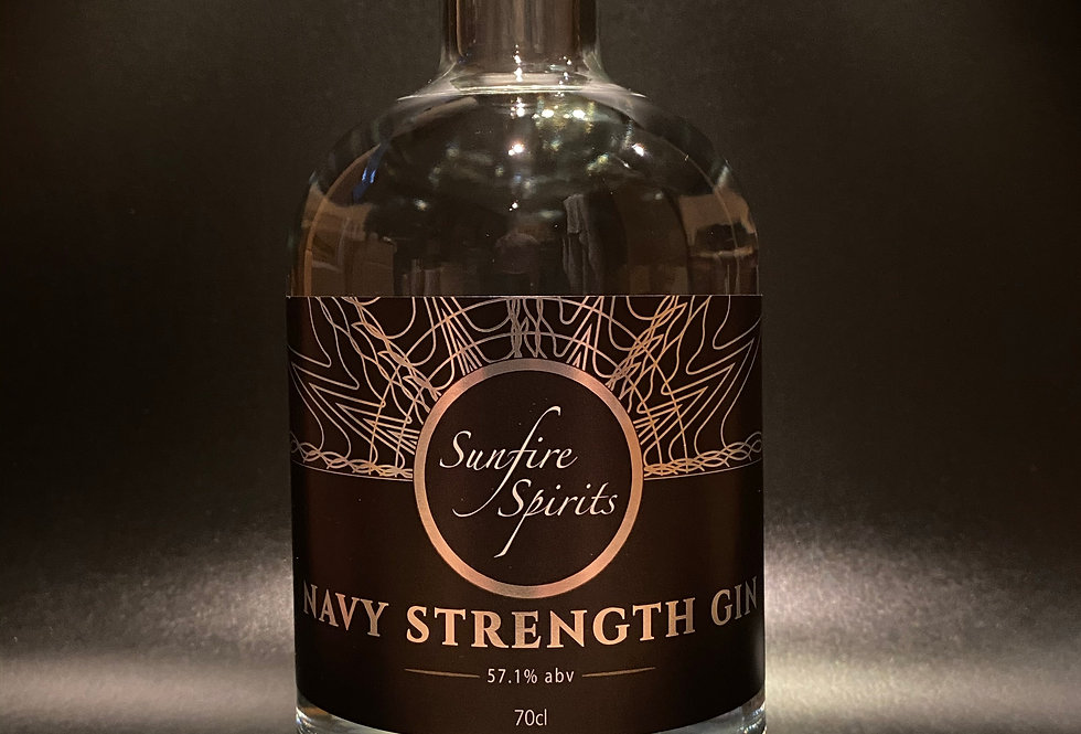 Navy Strength Gin 70cl