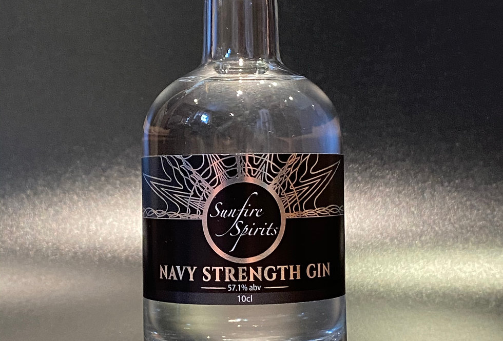 Navy Strength Gin 10cl