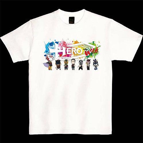 ワイルド軍団Tシャツ2020バニーデザインホワイトver.