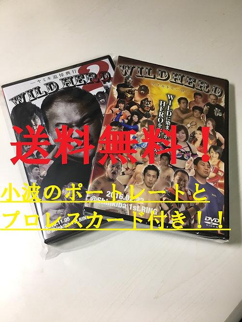 WILD HERO/DVDセット