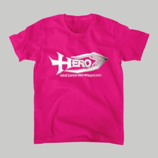 HERO。Tシャツピンク