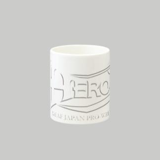 HEROマグカップ白
