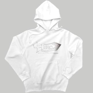 HEROパーカー白