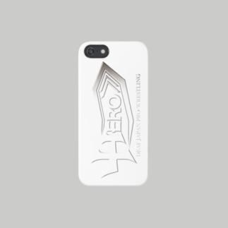 HEROiPhoneケース白