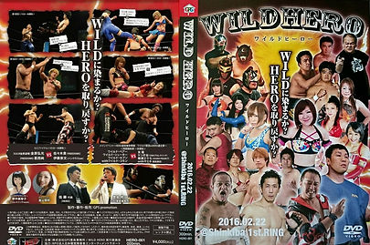 WILDHERO DVD