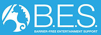 bes,NPO,聴覚障害者,barrier-free,ロゴ,バリアフリー,エンターテイメント,プロレス,