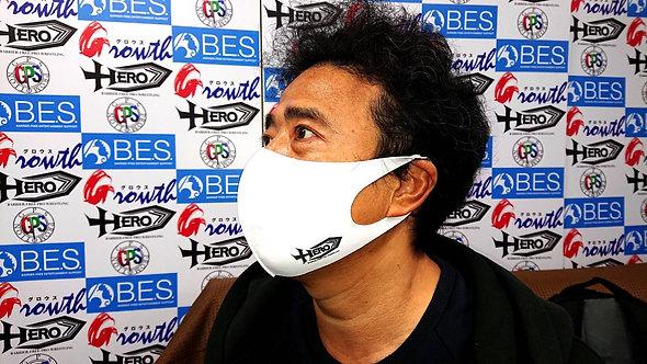 バリアフリープロレスHEROマスク
