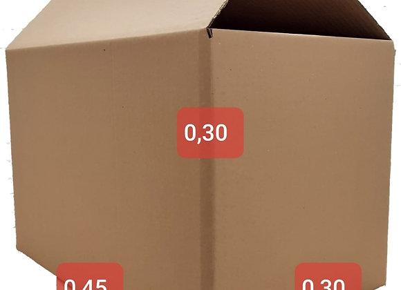 Caixa de Papelão Pequena 45 x 30 x 30