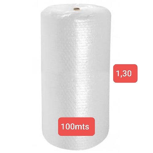 Bobina de Plástico Bolha 1,30  X  100