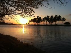 Kitesurfing Lanka - Couché de soleil