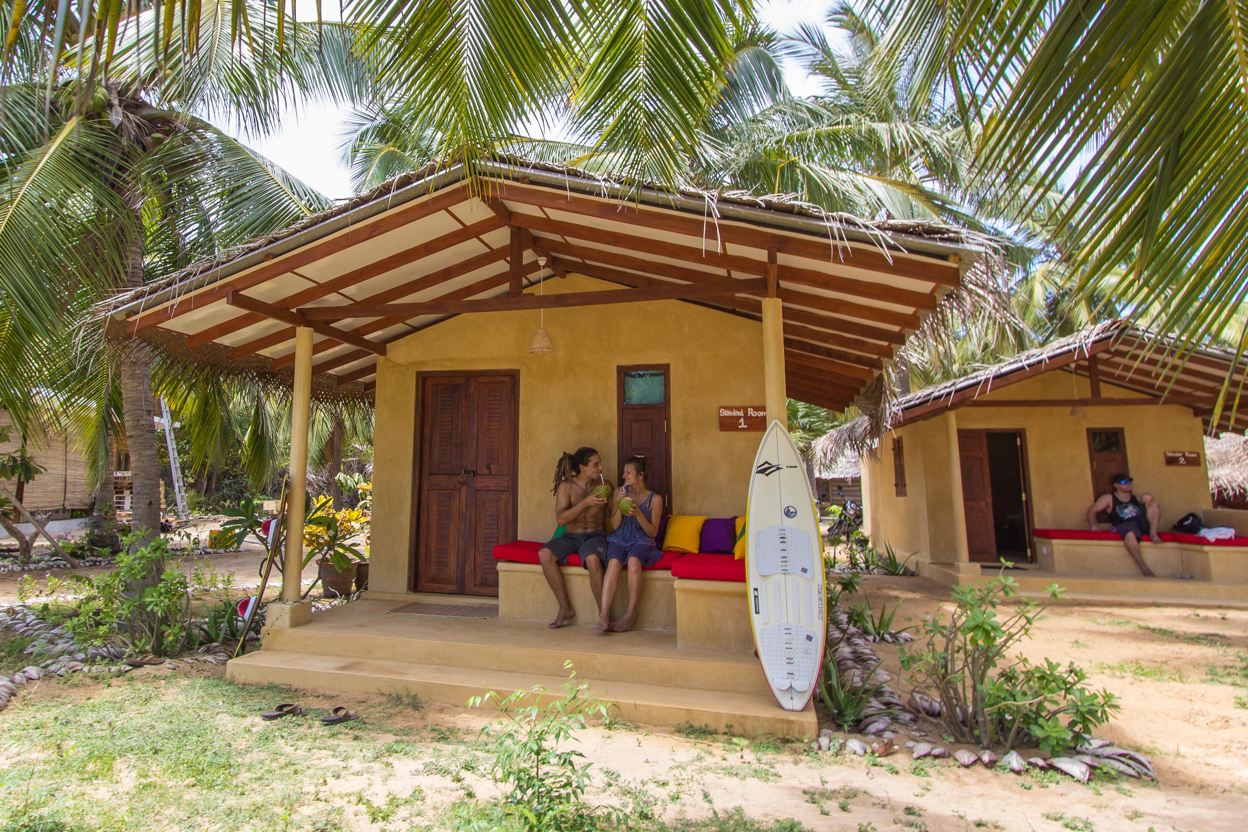 Kitesurfing Lanka - Bung. Standard