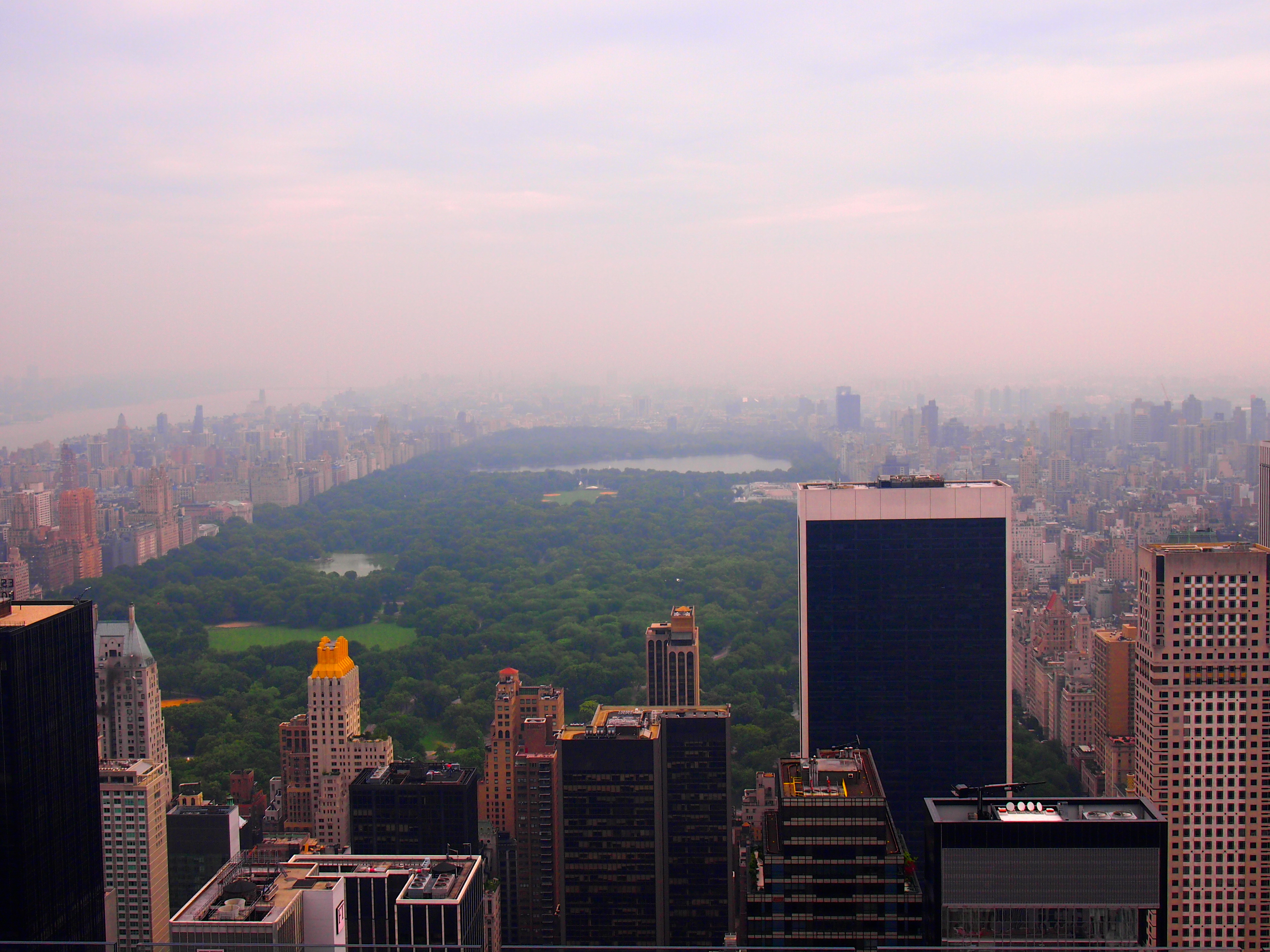 View from Rockefeller Center