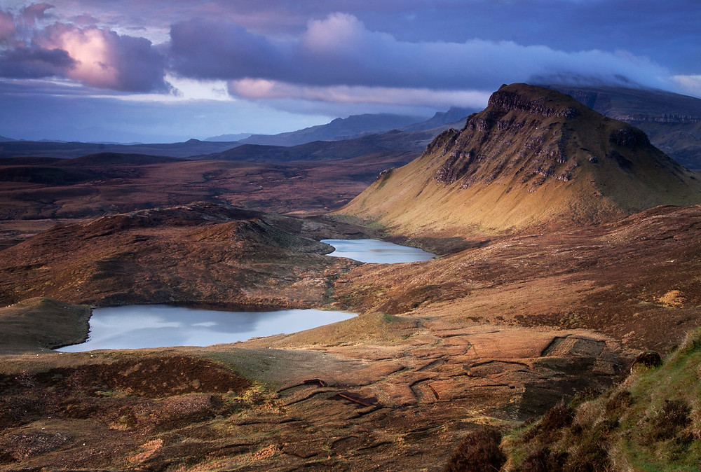 Cleat and the Trotternish Ridge