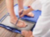 フットプリンター足の検査方法