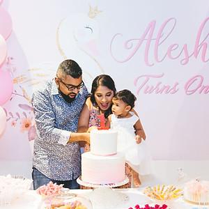 Alesha's 1st Birthday