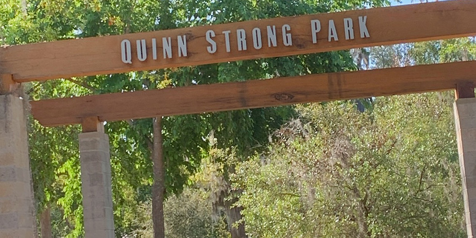 Sunday Service at Quinn Strong Park