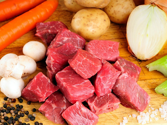 Beef Cubes Approx 450g