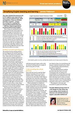 Optimus Education article