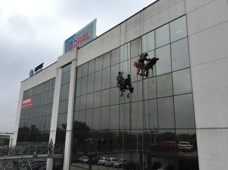 Remise en état de vitres