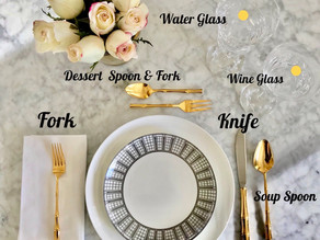 Modern Manners Monday - How to Set a Table