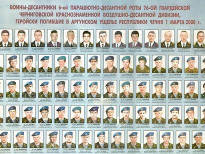 1 марта – день памяти легендарной Шестой роты псковских десантников