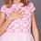 rochita fete fluturi roz tul aniversare