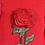 rochite fete catifea floare trandafir