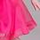 rochii fete organza fucsia roz fluturi