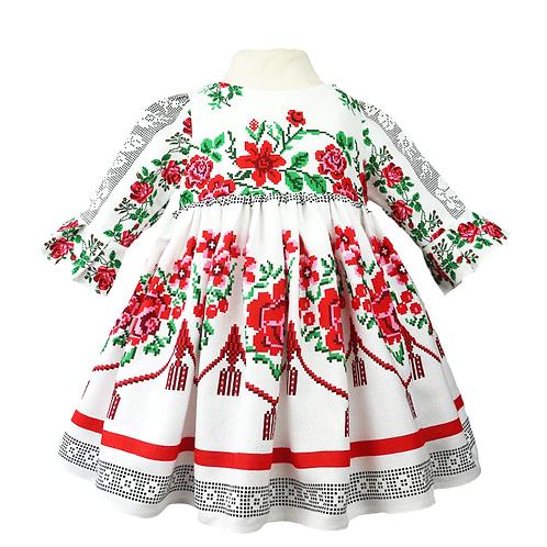 rochie botez costum popular