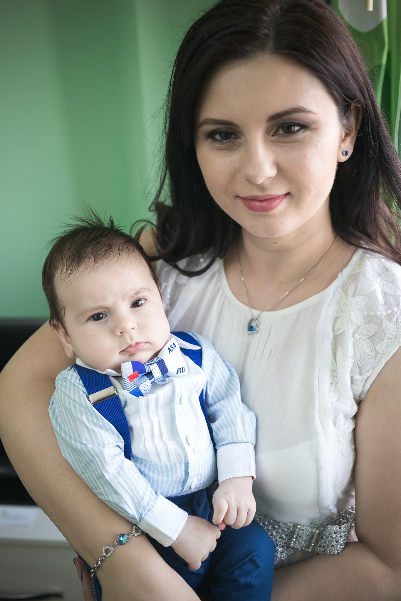 camasa albastra baiat botez