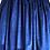 rochii fete bumbac fluturi flori catifea albastra
