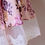 rochie fete flori tul cu dantela