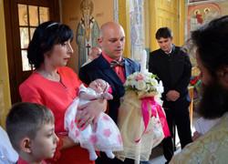Rochita de botez, ceremonie botez
