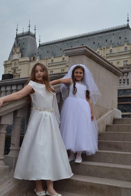 rochie fete comuniune
