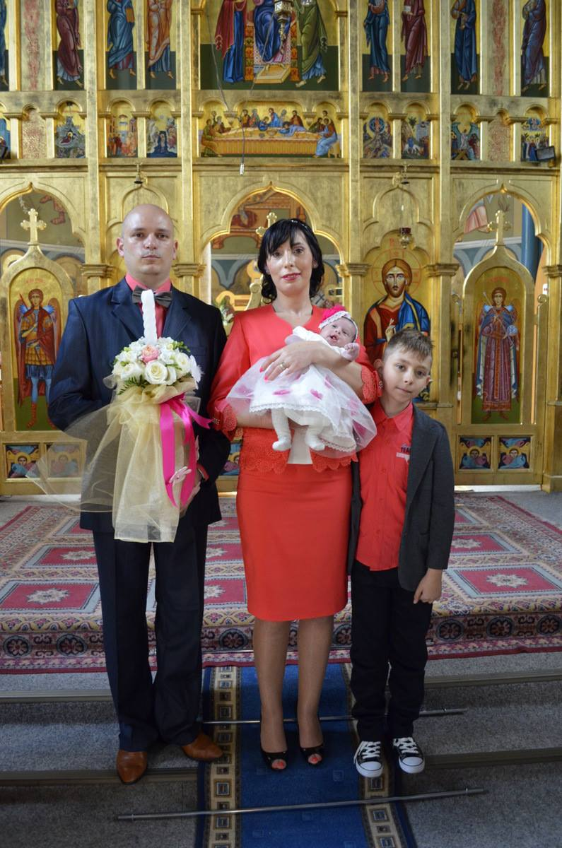 Ceremonie botez, rochita ceremonie