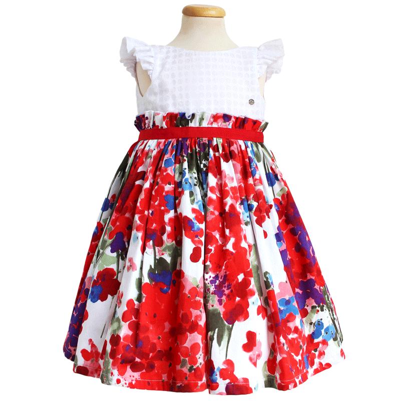 rochii fete flori, rochite fete