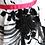 rochii fete alb negru cu fuscia