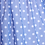 rochita fete tul buline albastru margarete