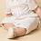 pantaloni scurti botez alb costum vara
