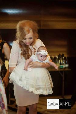 ceremonie botez, rochita botez