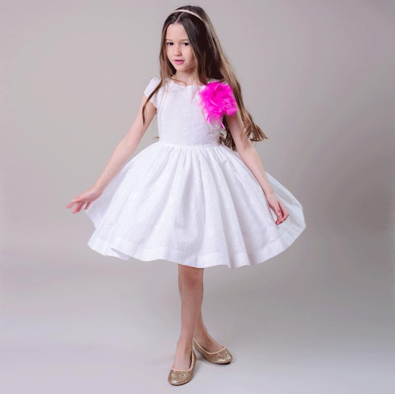 rochie fete bumbac, rochita fete