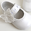 pantofi botez piele alb perlat ivoire fluture fluturas