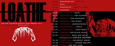 LOATHE - UK TOUR!
