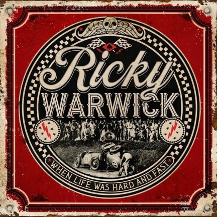 RICKY WARWICK returns with stunning new album 'When Life Was Hard And Fast'