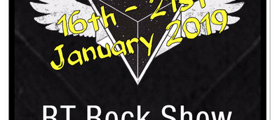 The RT Rock Show Gig Guide 16th - 21st January 2019 🤘